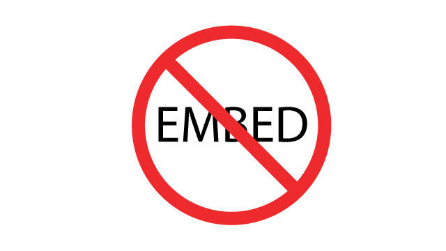 Embedding has been disabled because the Common Craft account is in arrears.