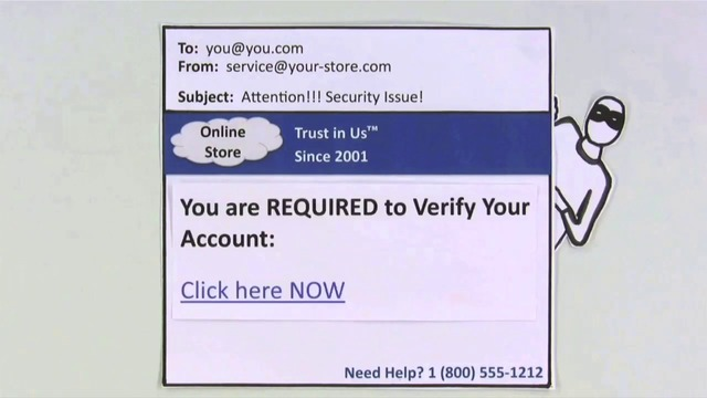 Phishing Scams verklaard door Common Craft