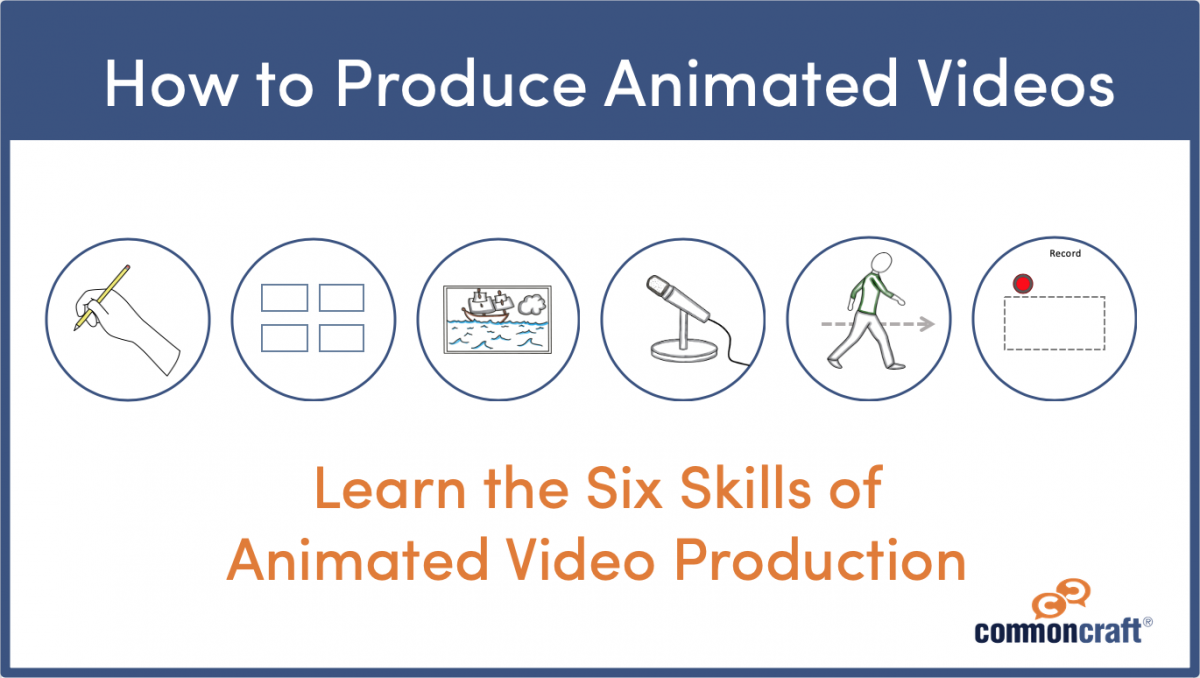 How to produce animated videos course image