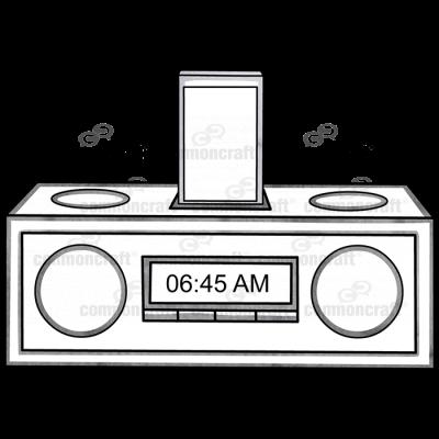 Alarm Clock Phone