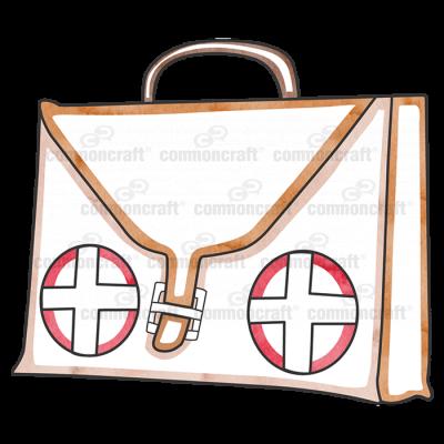 Bag Leather Cross