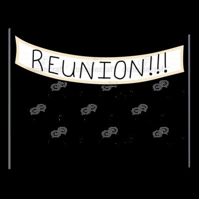 Banner Sign Reunion