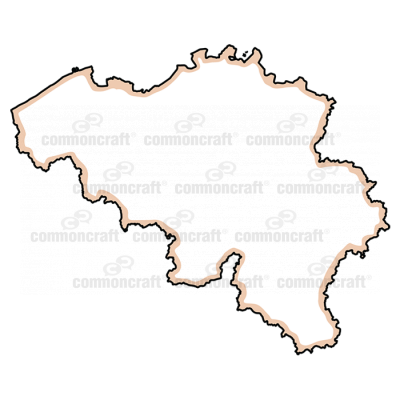 Belgium Map