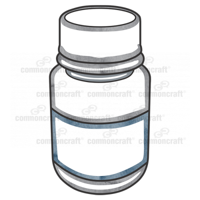 Bottle Plastic Label Cap