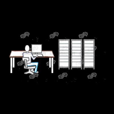 IT Servers Scene