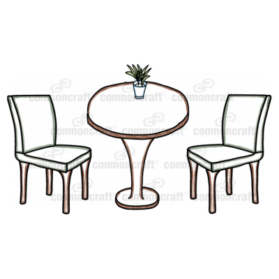 Meeting Table Scene