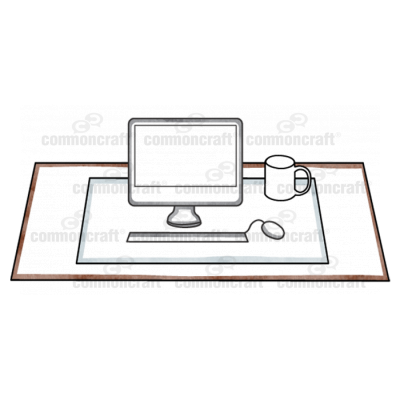 Office Desktop Scene