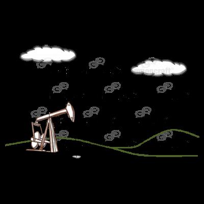 Oil Pump Field Scene