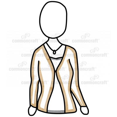 Person Female Cardigan