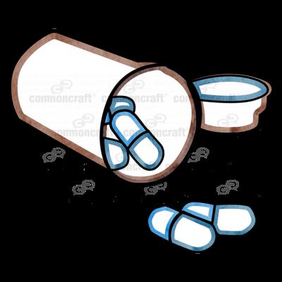 Pills Bottle Cap