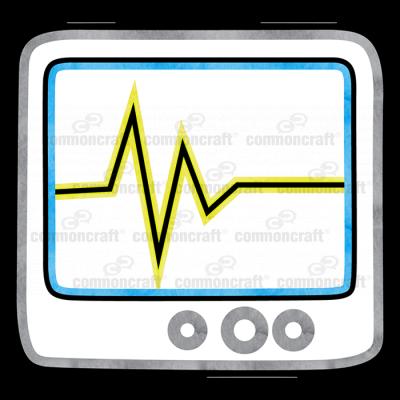 Scanner Monitor EKG