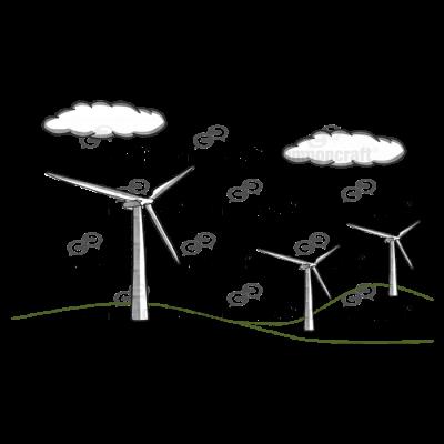 Windmills Field Scene