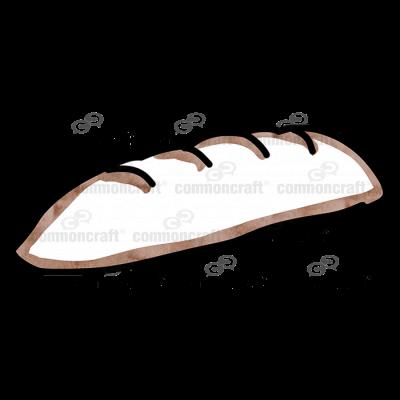 Bread Loaf Flat Bottom