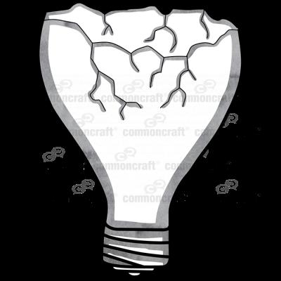 Bulb Broken Off