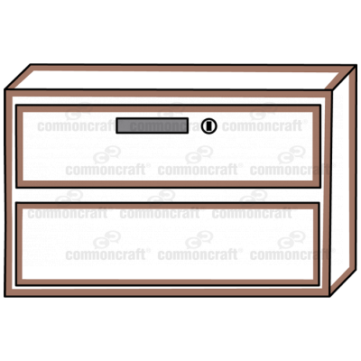 Cabinet Drawers Closed