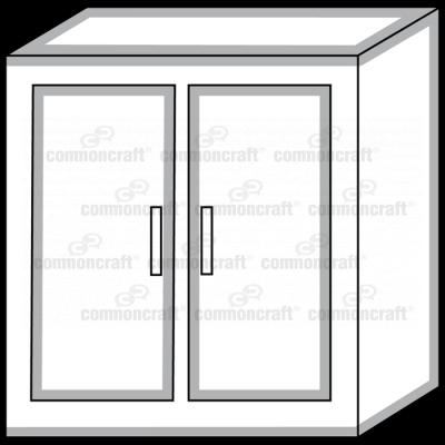 Cabinet Closet Closed
