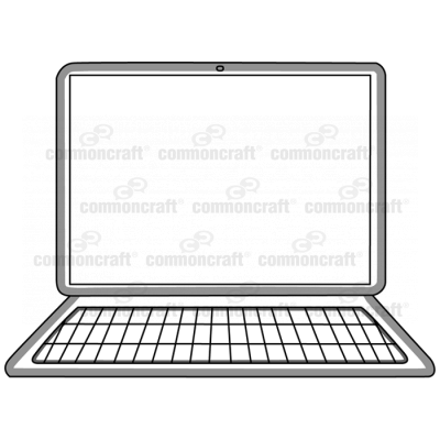 Computer with Buttons