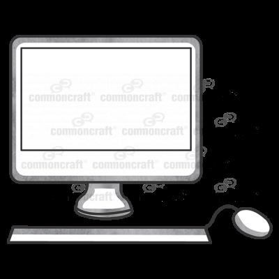 Computer Desktop Front