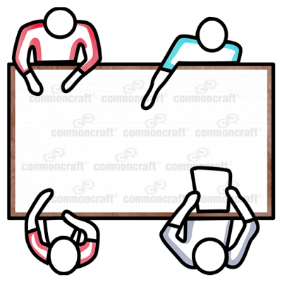 Conference Table 4 People
