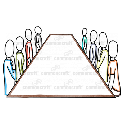 Conference Table 8 People
