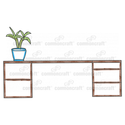 Desk Drawers Plant