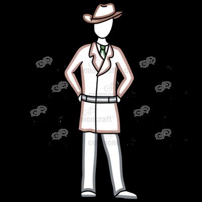 Detective Standing