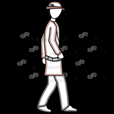 Detective Walking1
