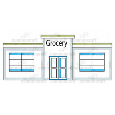 Grocery Store Building