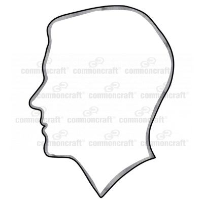 Head Outline Profile