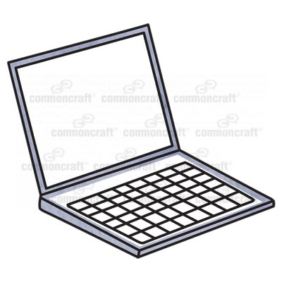 Laptop Computer Front 3