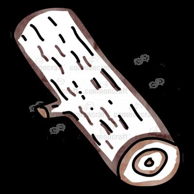 Log 1 Cut