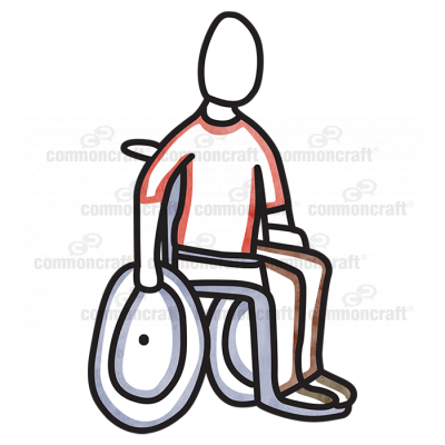 Male Wheelchair