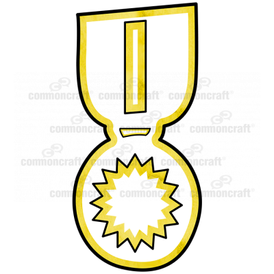 Medal Yellow