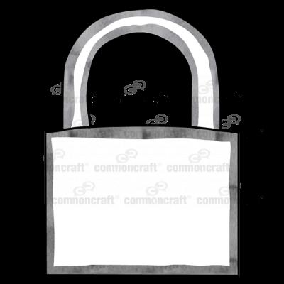Padlock locked