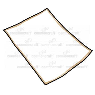 Paper Document Flat