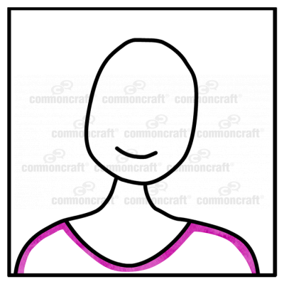 Portrait Icon Headshot Purple 2