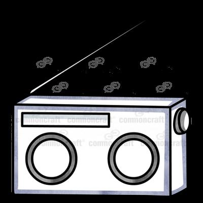 Radio with Antenna