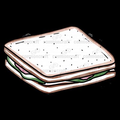 Sandwich Meat Lettuce
