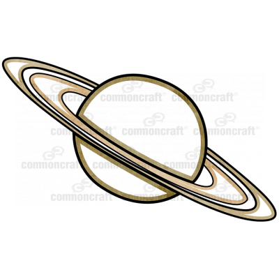 Saturn Planet Detail