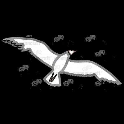 Seagull Under