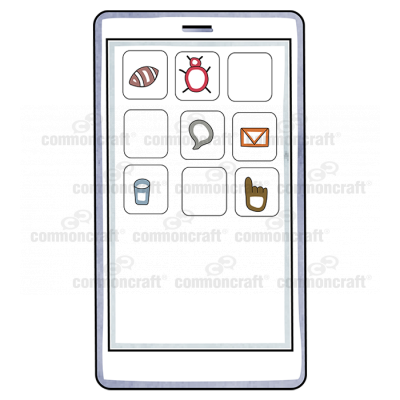 Tablet Phone Icons
