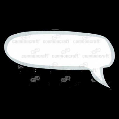 Talk Bubble Oval Corner Curve