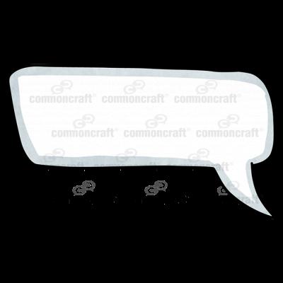 Talk Bubble Rounded Corner Curve