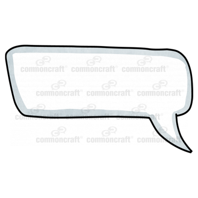 Talk Bubble Rounded Corner Curve