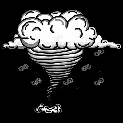 Tornado and Cloud