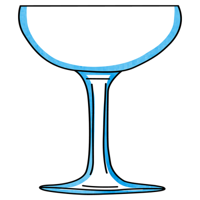 Cocktail Champagne Glass