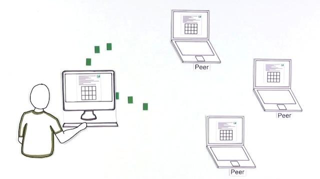 コモンクラフトによるBitTorrentの説明