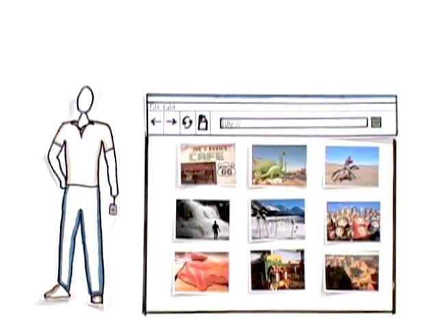 コモンクラフトによるオンライン写真共有の説明