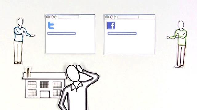 コモンクラフトによるソーシャルメディアと職場の説明